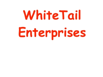 whitetail-enterprises